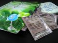 コラーゲン樹液シート。竹酢液:木酢液=1:1の中間グレード樹液シートです。