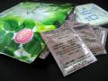 ビタミンC誘導体樹液シート。竹酢液:木酢液=1:1の中間グレード樹液シートにビタミンC誘導体を配合。