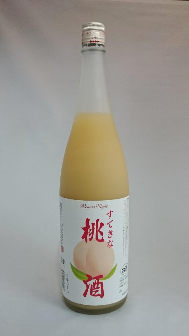 すてきな桃酒
