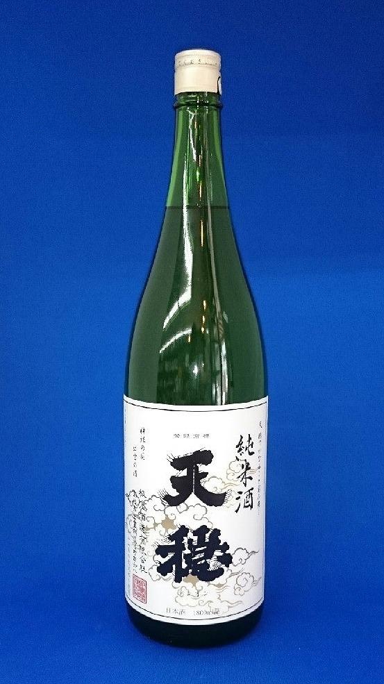 天穏 純米酒 白ラベル