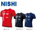 NLG63-011 ニシ NISHI 陸上 T&F モーションラインTシャツ Tシャツ 限定