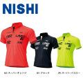 NLG63-308 ニシ NISHI コンフォートラインフィットポロ NOLIMIT ポロシャツ 陸上 T&F