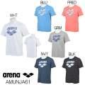 AMUNJA61 アリーナ arena Tシャツ ビックロゴ 水泳 SWIM