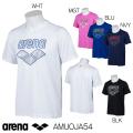 AMUOJA54 アリーナ arena Tシャツ プラクティスTシャツ ビックロゴTシャツ 水泳 SWIM