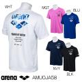 AMUOJA58 アリーナ arena Tシャツ プラクティスTシャツ INSPIREDBYWATER POWEROFWATER 水泳 SWIM
