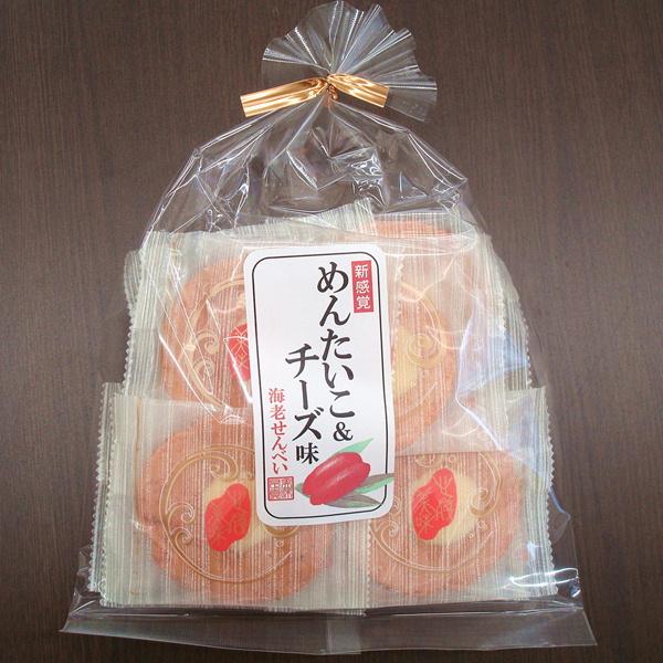 めんたい&チーズ味煎餅