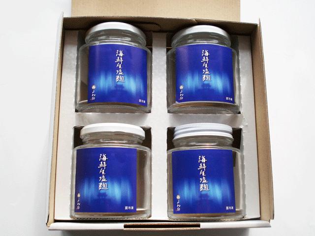 海鮮生塩麹4入