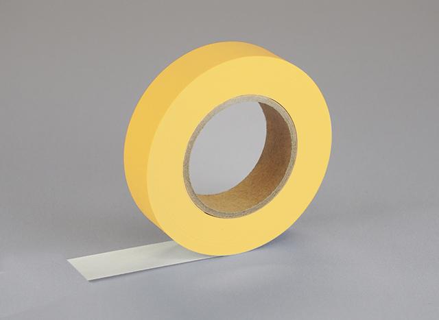 紙自着テープ 黄 (15mm)