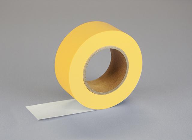 紙自着テープ 黄 (25mm)