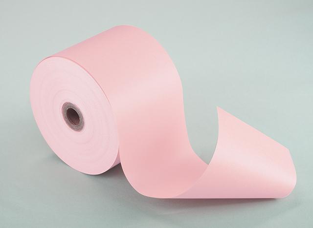 両面カラーサーマルロール ピンク (58mm)