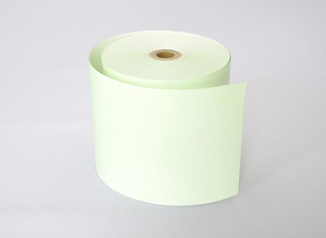 カラーサーマルロール 緑 (80mm)