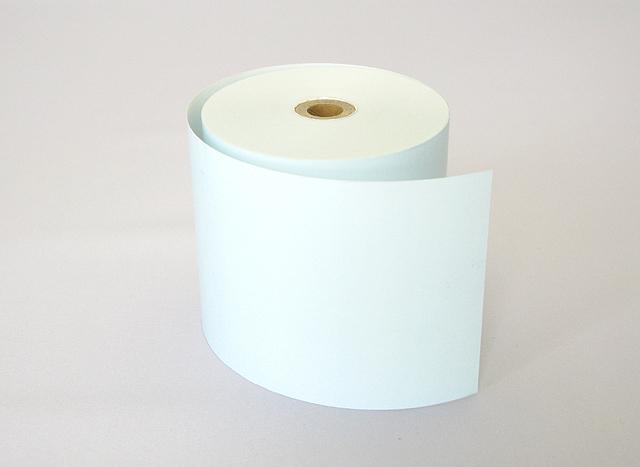 カラーサーマルロール 水色 (80mm)