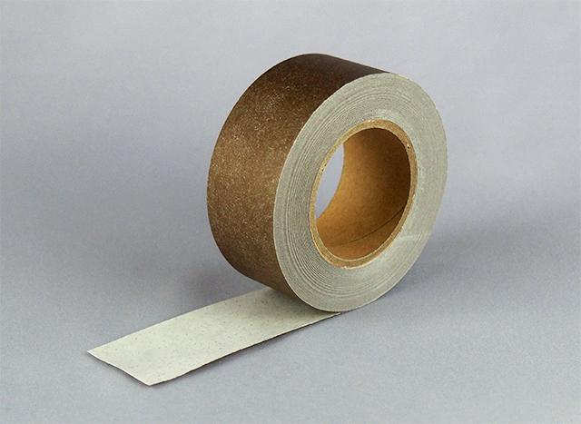 紙自着テープ 茶 (25mm) 1巻入り
