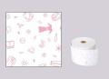 ファンシーレジ用紙 クリーニング ピンク (58mm) 3巻入