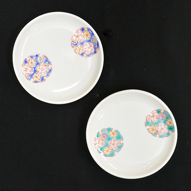 鏑木オリジナル 彩花丸紋 ブルー/グリーン