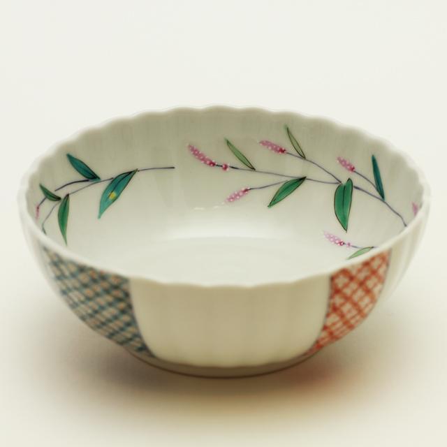 大兼政花翆 野の花4寸鉢
