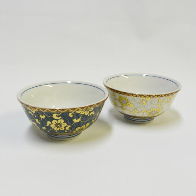 青粒・白粒 ご飯茶碗