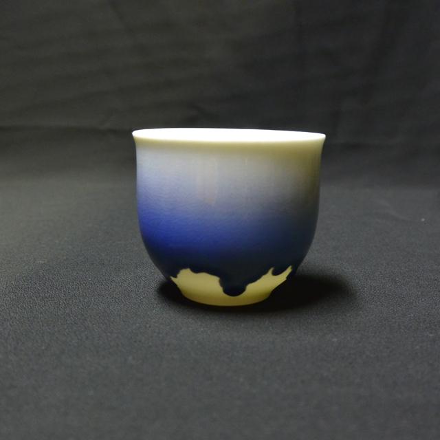 徳田八十吉(四代)フリーカップ 竜王