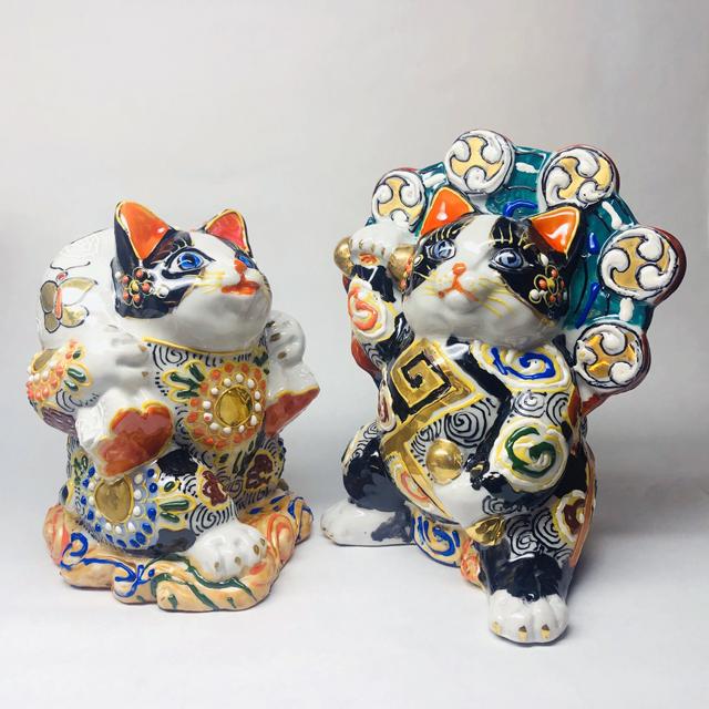 風神猫・雷神猫【黒盛Ver.】