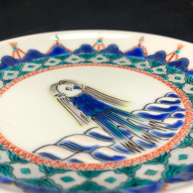 アマビエ豆皿 皿立て付き【鏑木オリジナル】