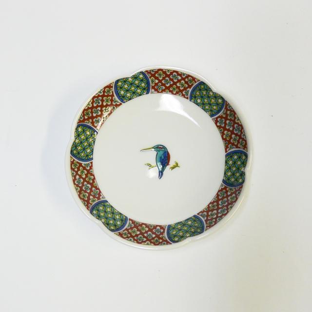 カワセミ  3号皿