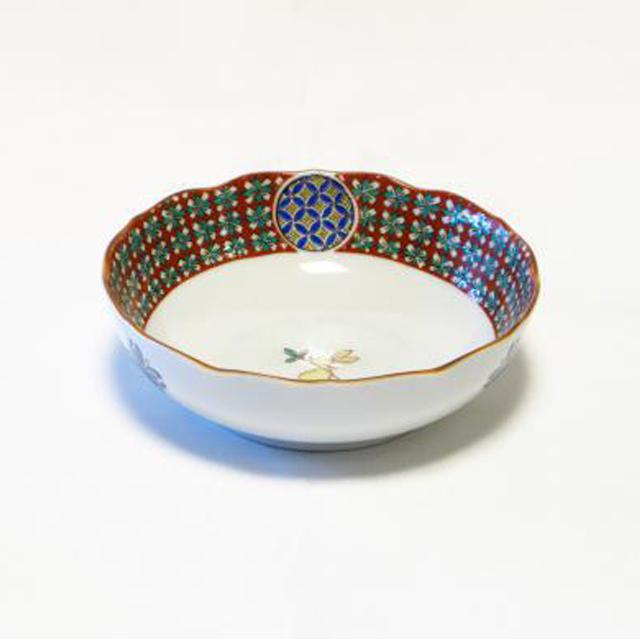 小紋うさぎ 4号小鉢