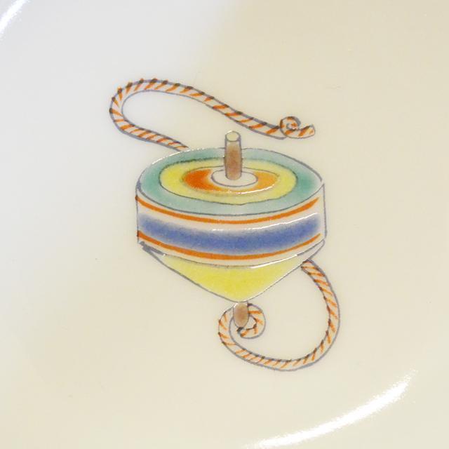 江戸玩具 3.5号小鉢揃 独楽