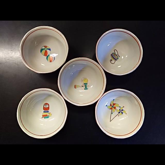 江戸玩具 3.5号小鉢揃