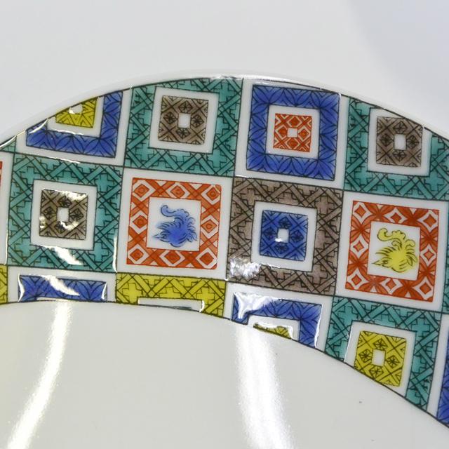 楕円鉢 石畳