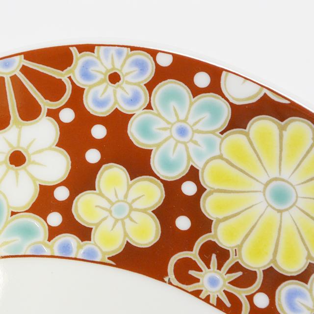 楕円鉢 梅菊