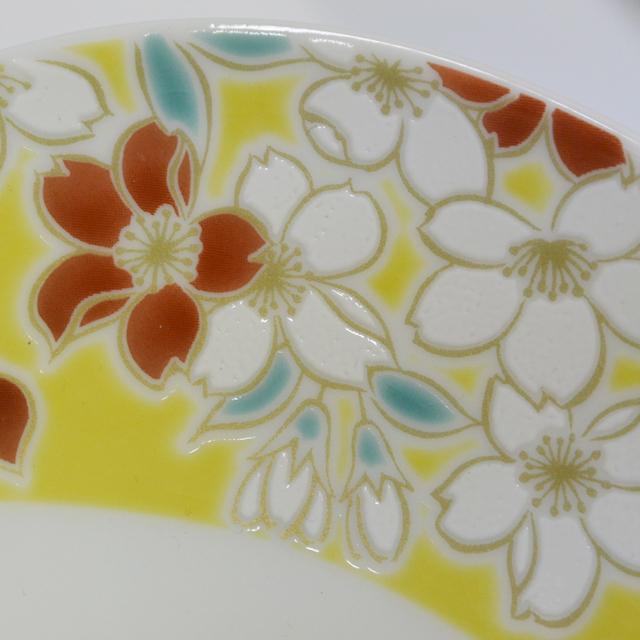 楕円鉢 桜