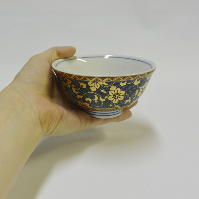 青粒 ご飯茶碗