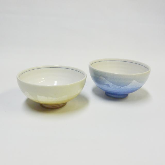銀彩 ご飯茶碗