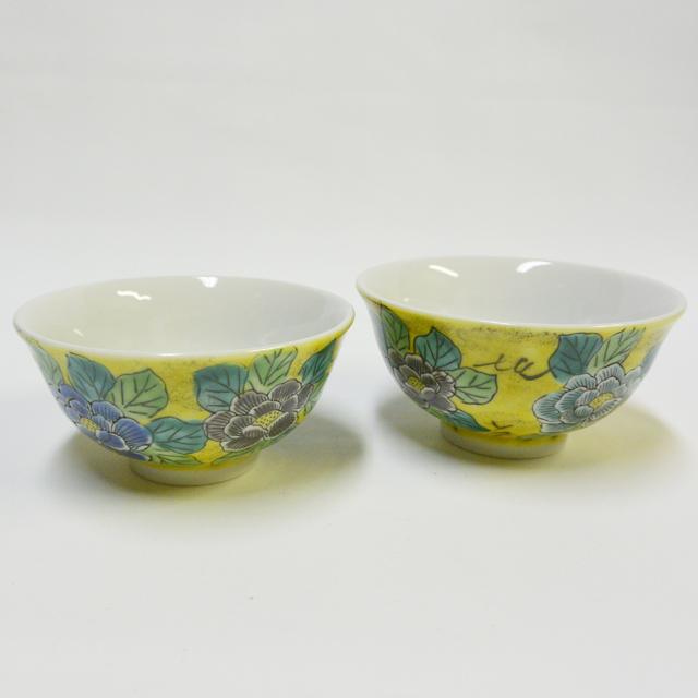 吉田屋牡丹 ご飯茶碗