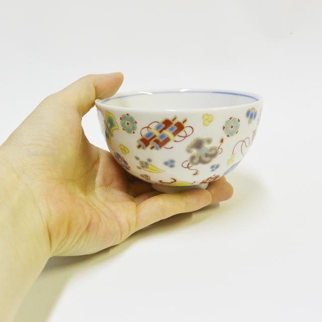 宝尽し ご飯茶碗