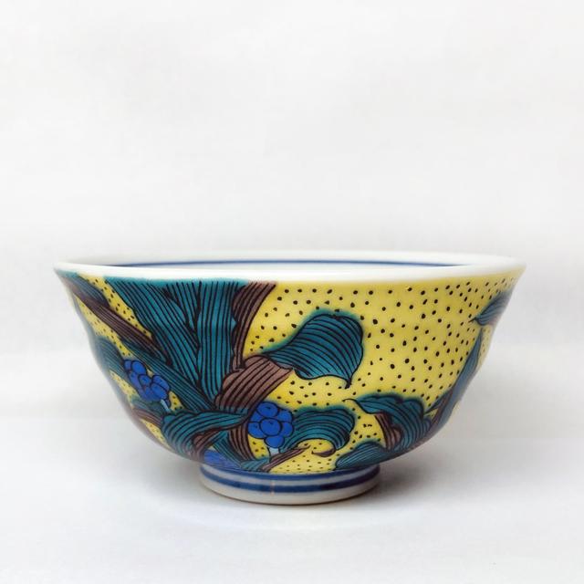 姫碗 吉田屋風万年青(おもと) 【ミニ飯碗・小さいご飯茶碗】