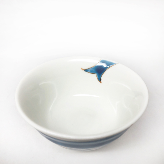 姫碗 クジラ 【ミニ飯碗・小さいご飯茶碗】