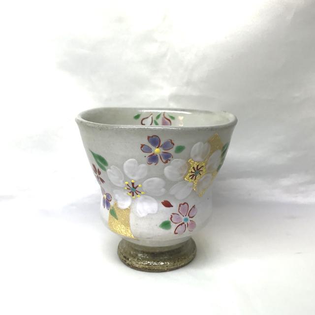 湯呑 四季の花(1月~6月)
