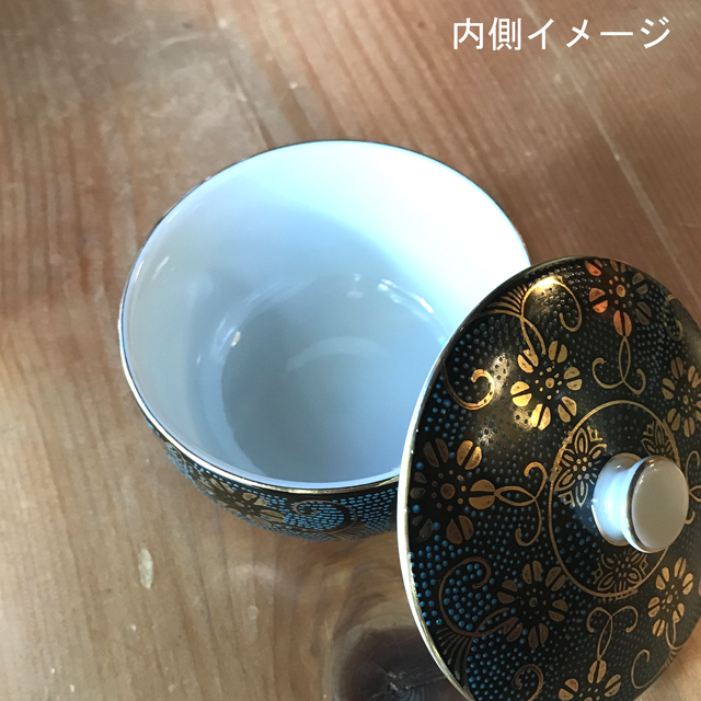 蓋付汲出 金七宝/白七宝/梅詰/赤網/おもと