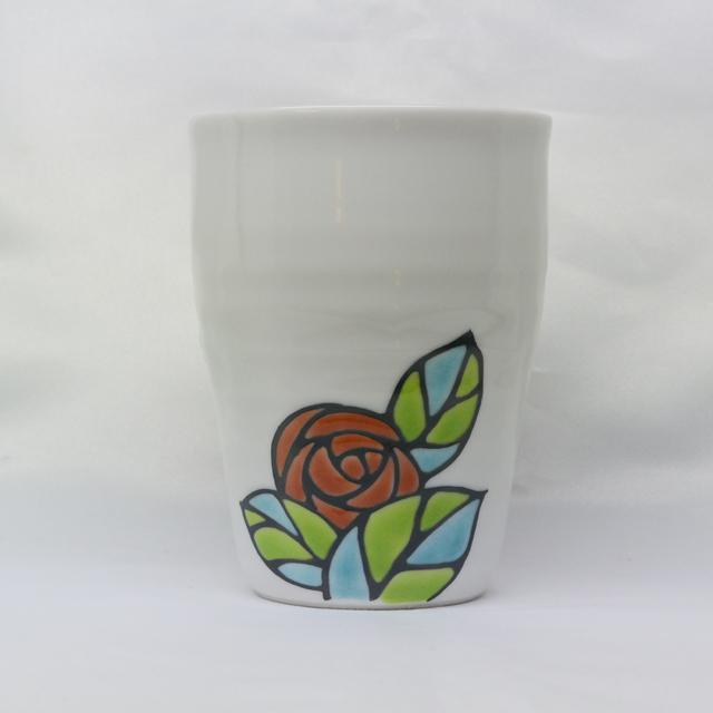 糠川孝之 バラ フリーカップ