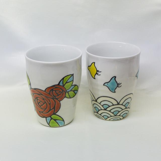 糠川孝之 ちどり バラ フリーカップ