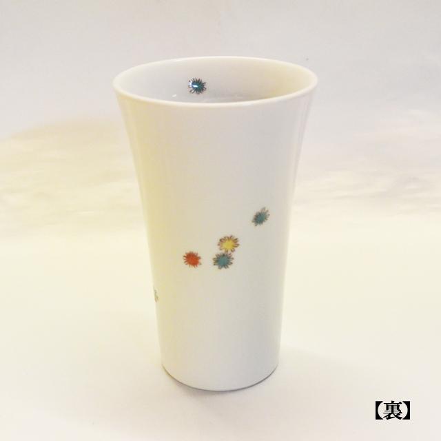 草花 フリーカップ(裏面)
