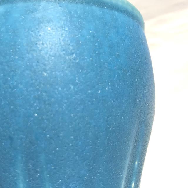 トルコ釉フリーカップ磁肌