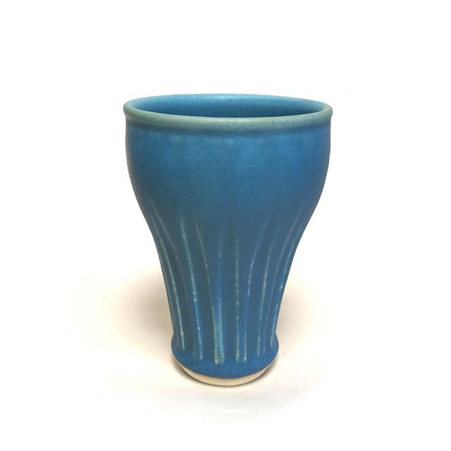 虚空蔵窯 トルコ釉 フリーカップ