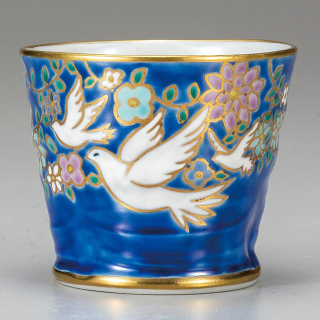 花きらりシリーズ カップ・白鳩