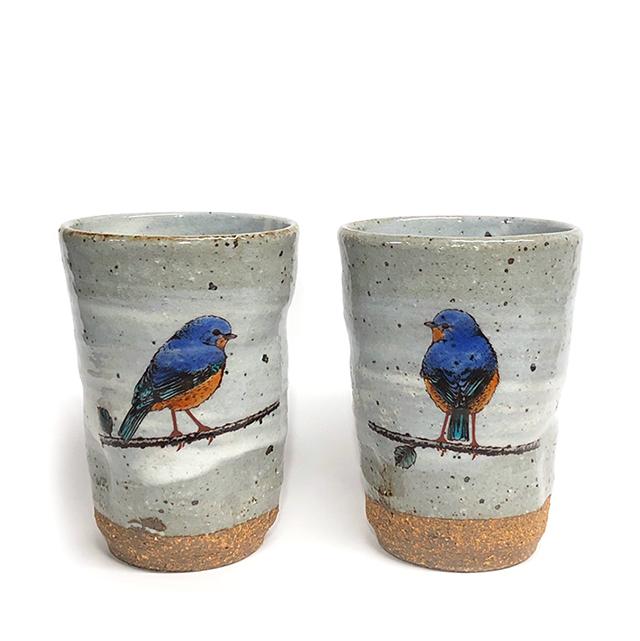 祥花 「かがやきシリーズ」 フリーカップ 【青い鳥】