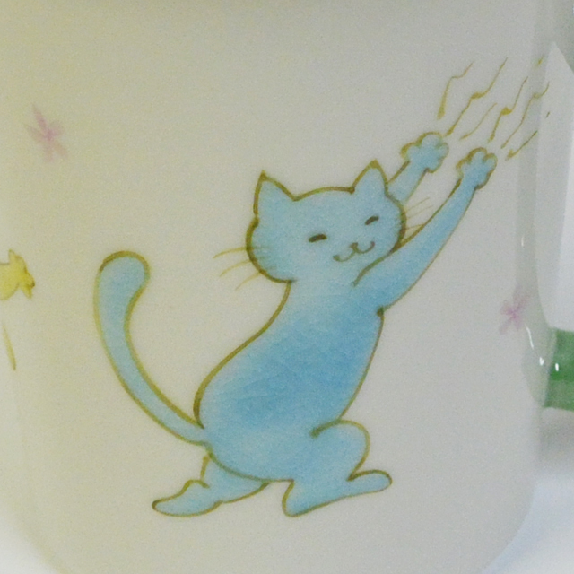 高辻あい いたずら猫マグカップ