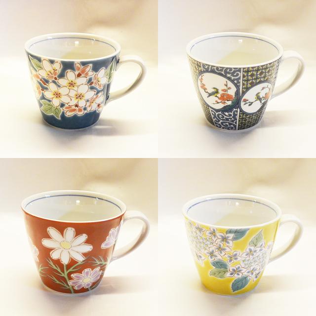 古九谷風丸紋 マグカップ