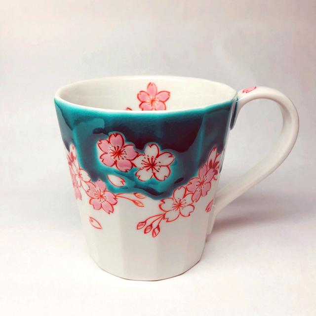 【鏑木オリジナル】桜 マグカップ