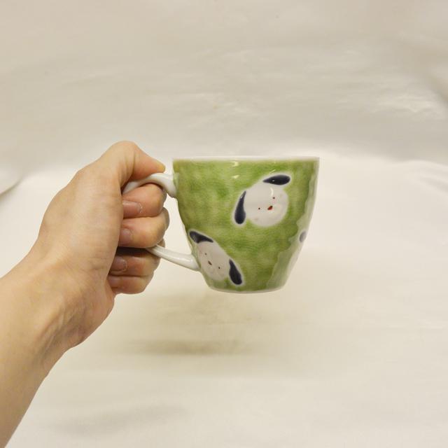 色絵工房 遊 わんわんマグカップ